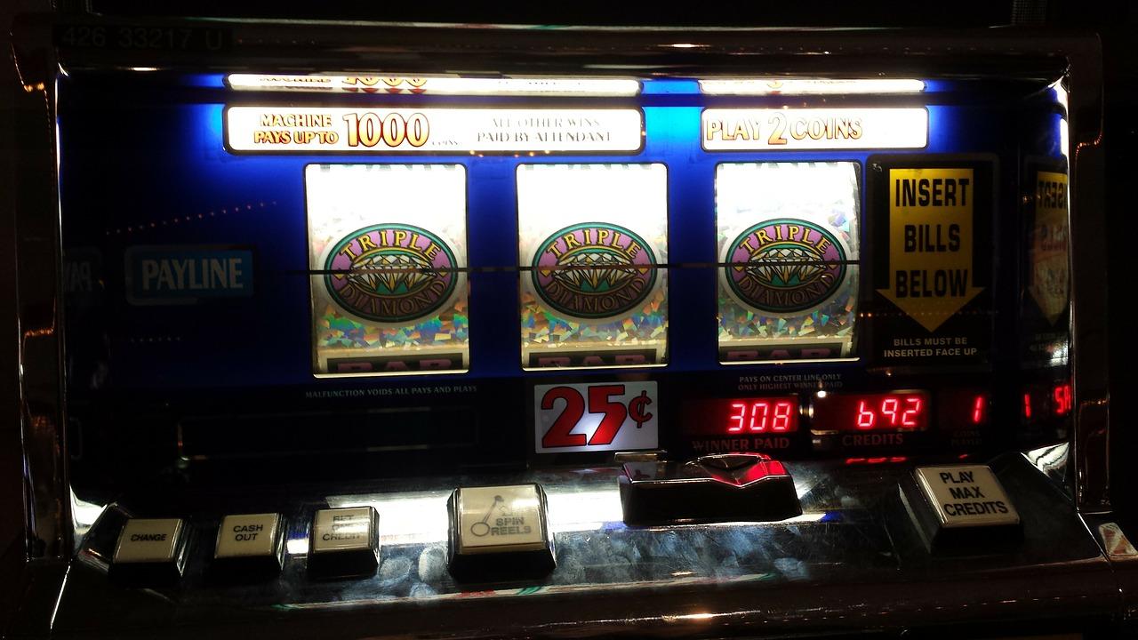 Lucky slot machine at morongo