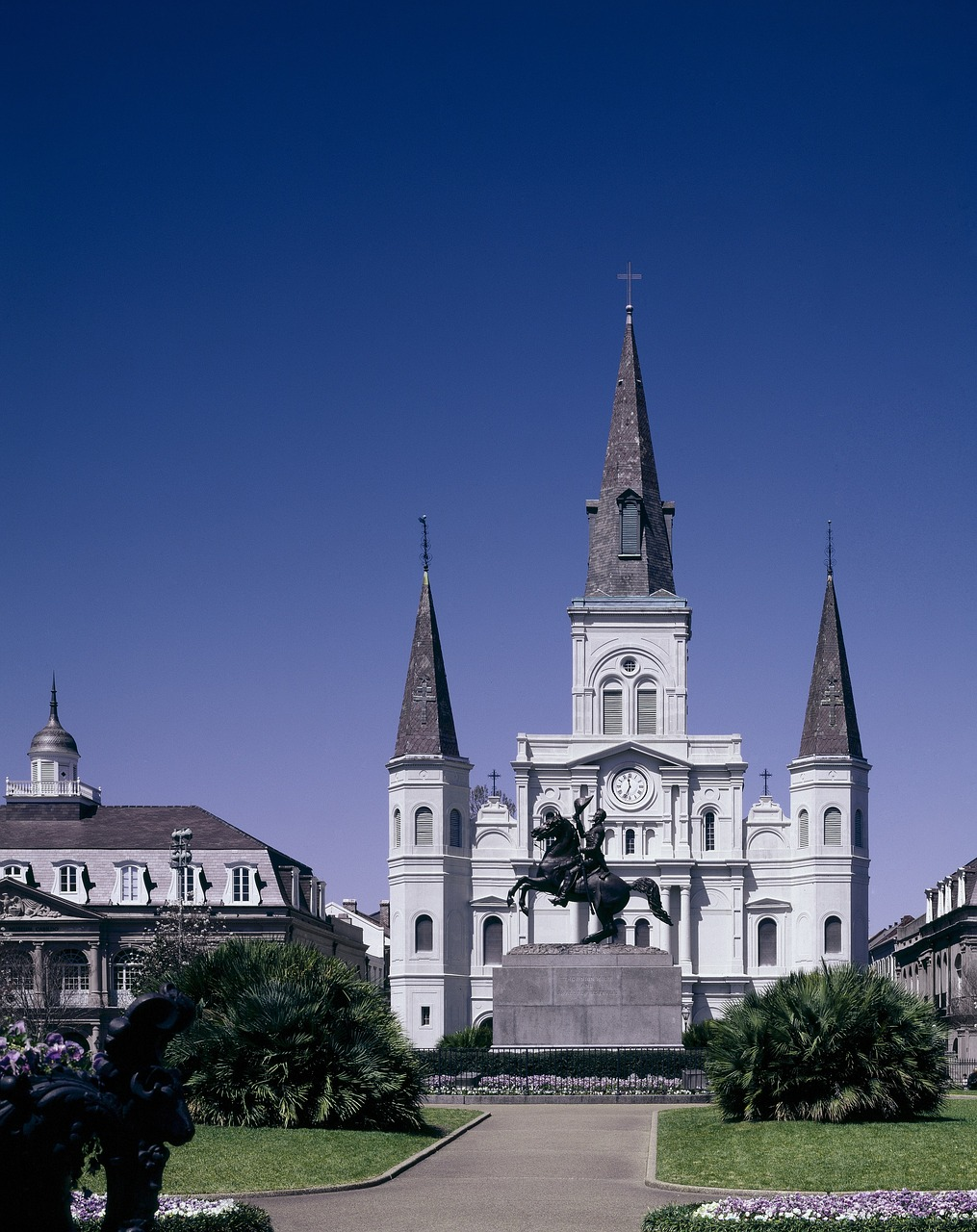 jackson  square  new orleans free photo
