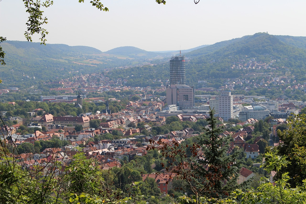 jena thuringia germany city free photo