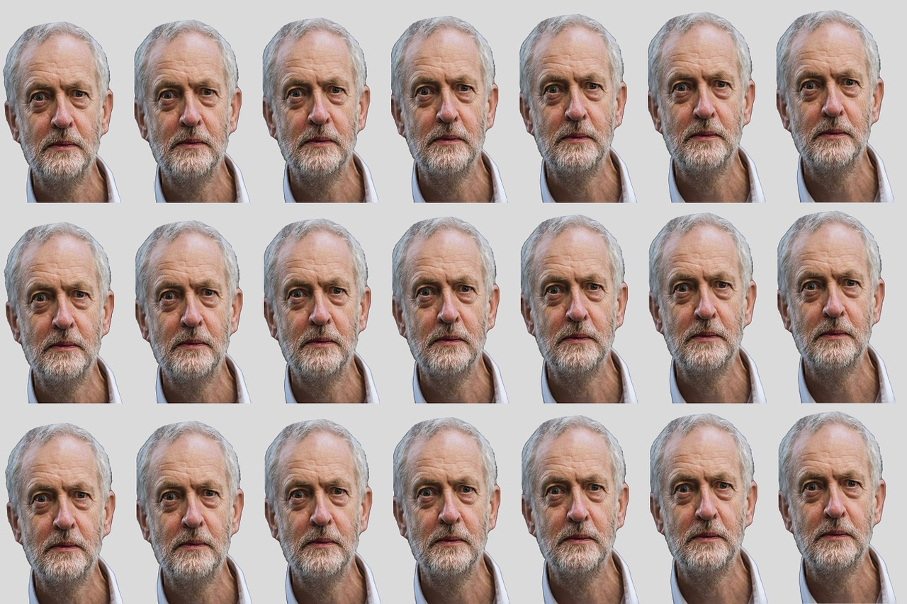 jeremy corbyn background texture free photo