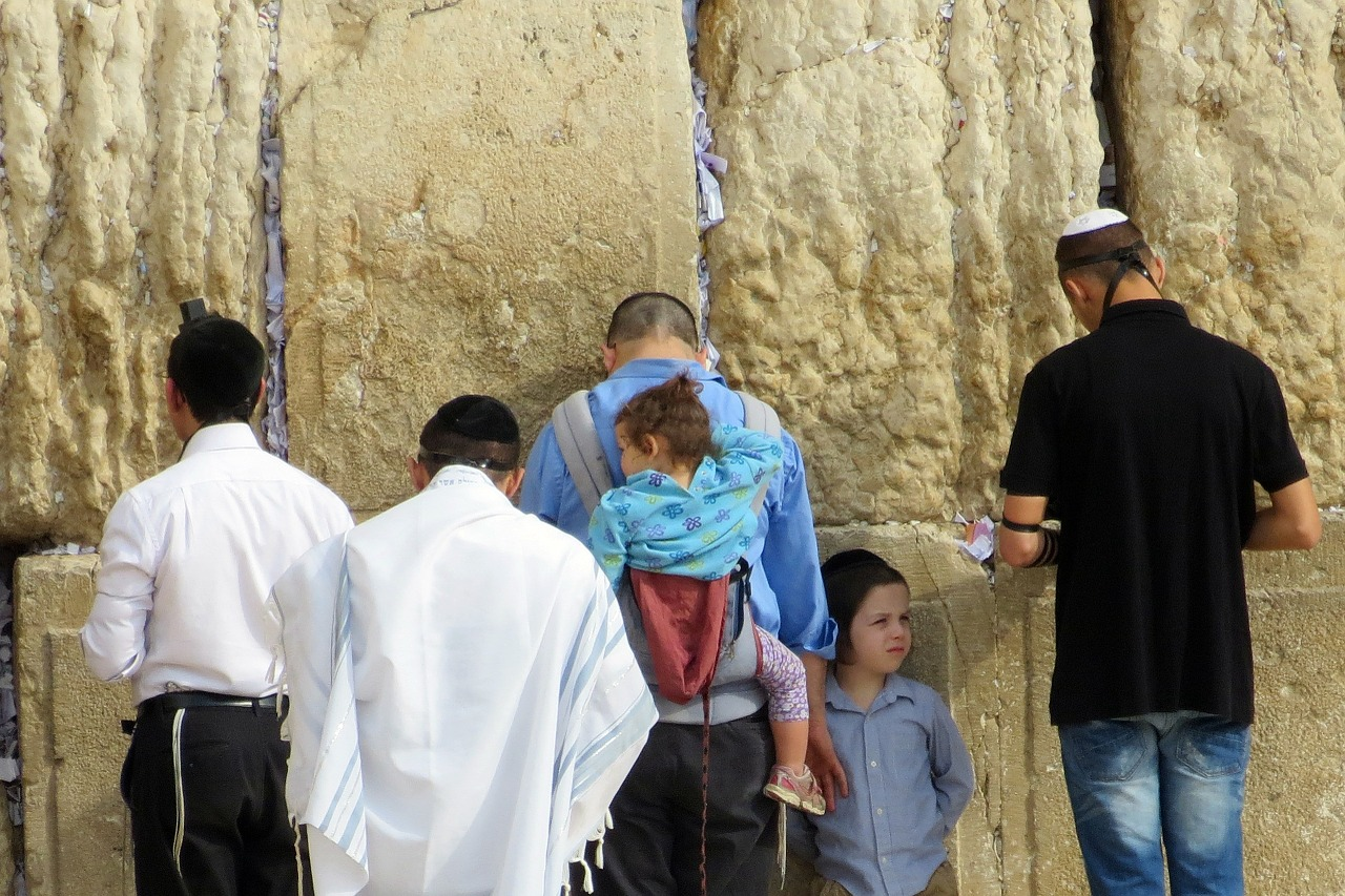 jerusalem western wall israel free photo