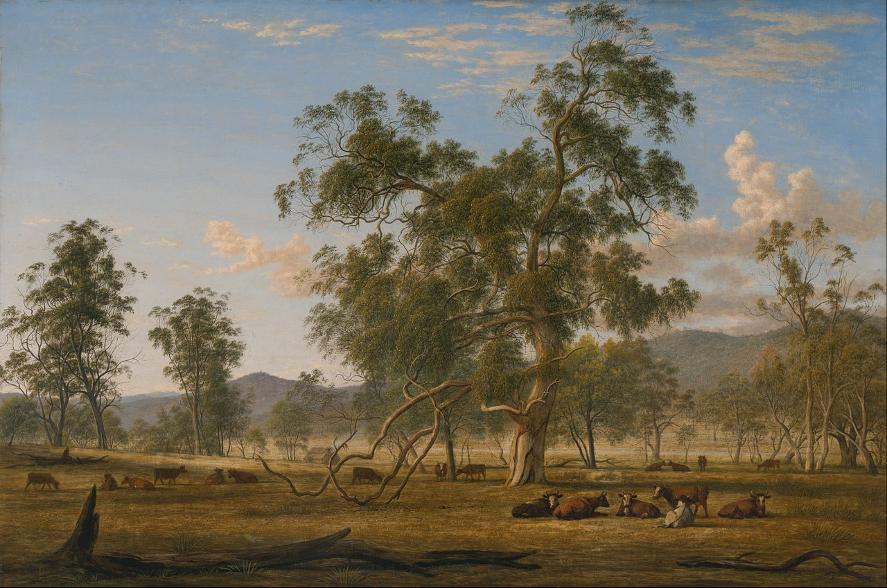 john glover painting oil on canvas free photo