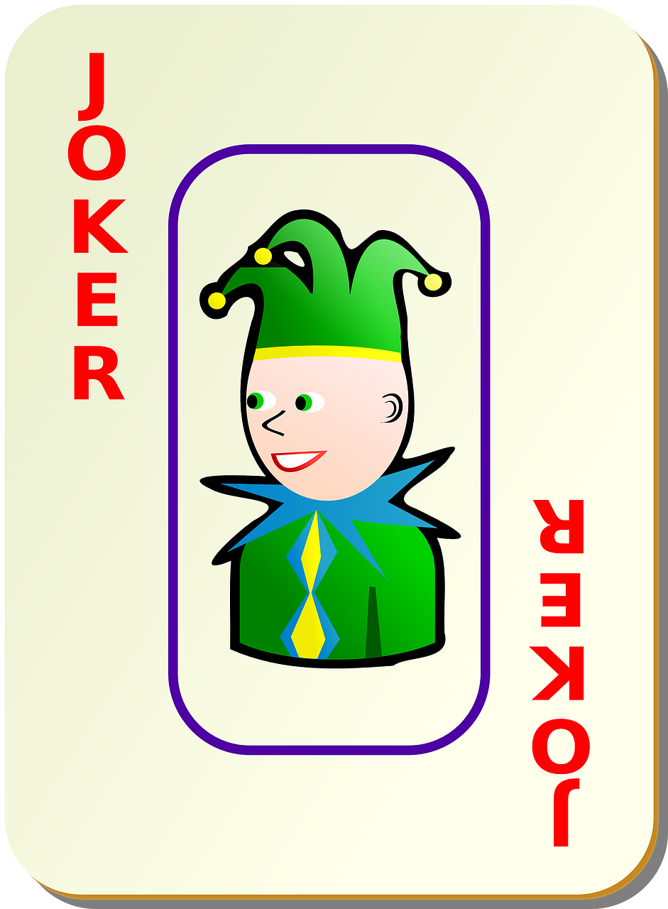 joker card recreation free photo