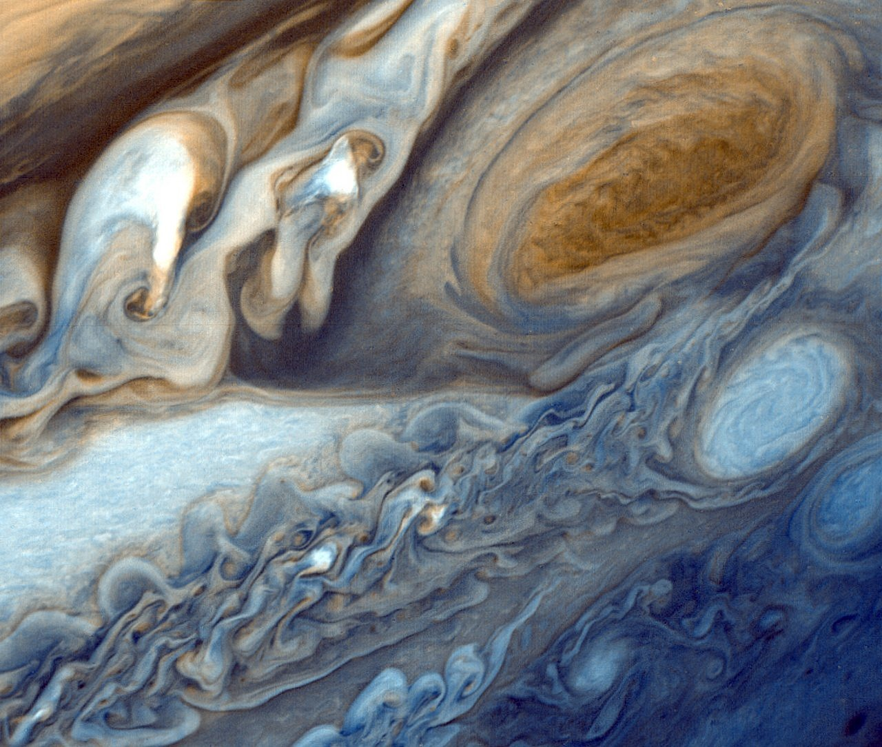 jupiter planet big red stains free photo