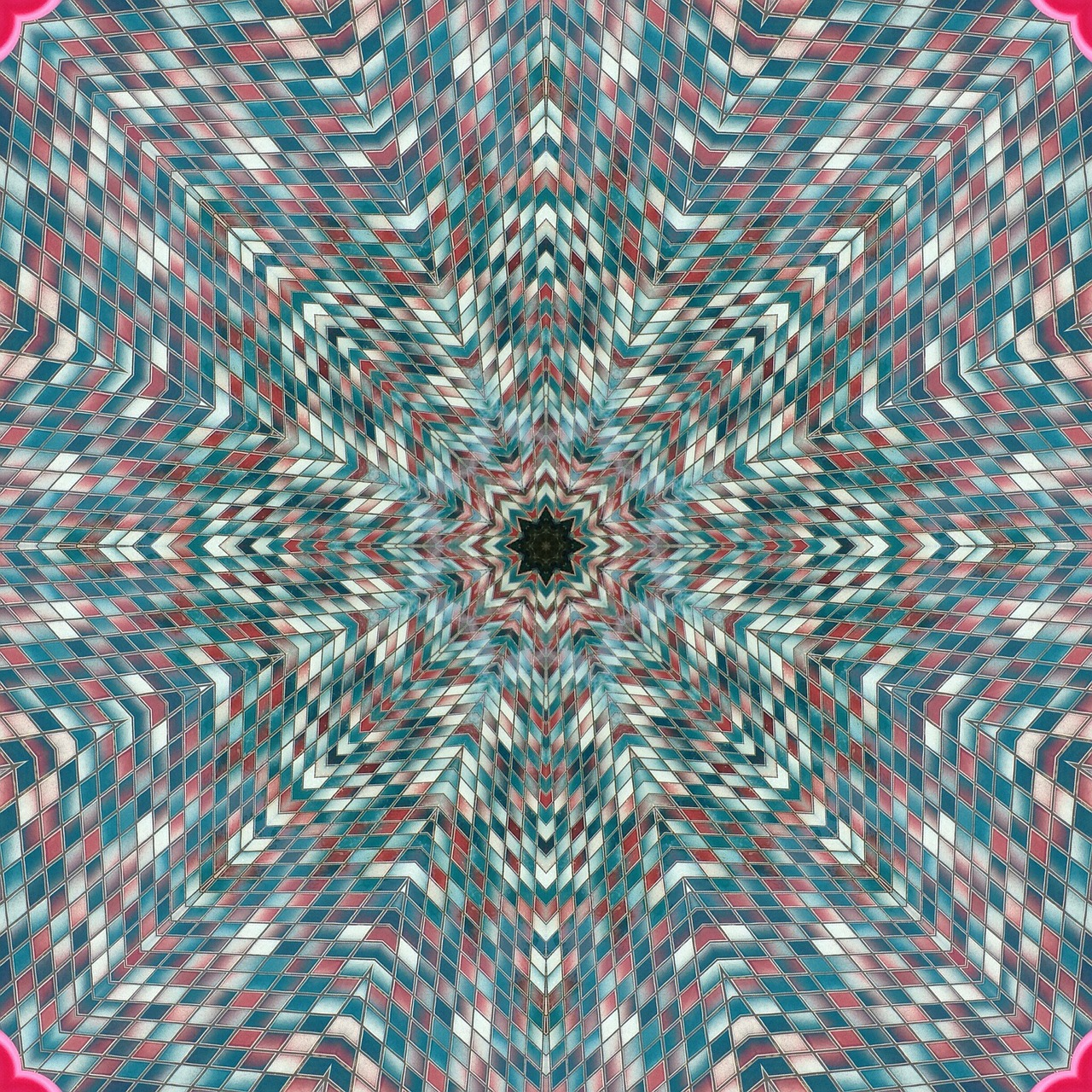 kaleidoscopes mosaic patterns free photo