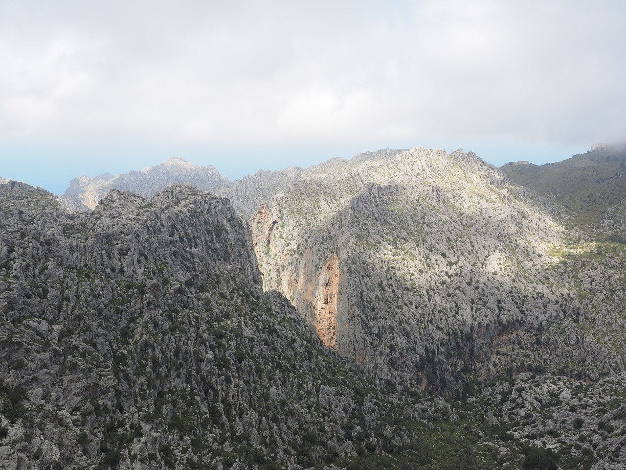 View from Tramuntana Mountains