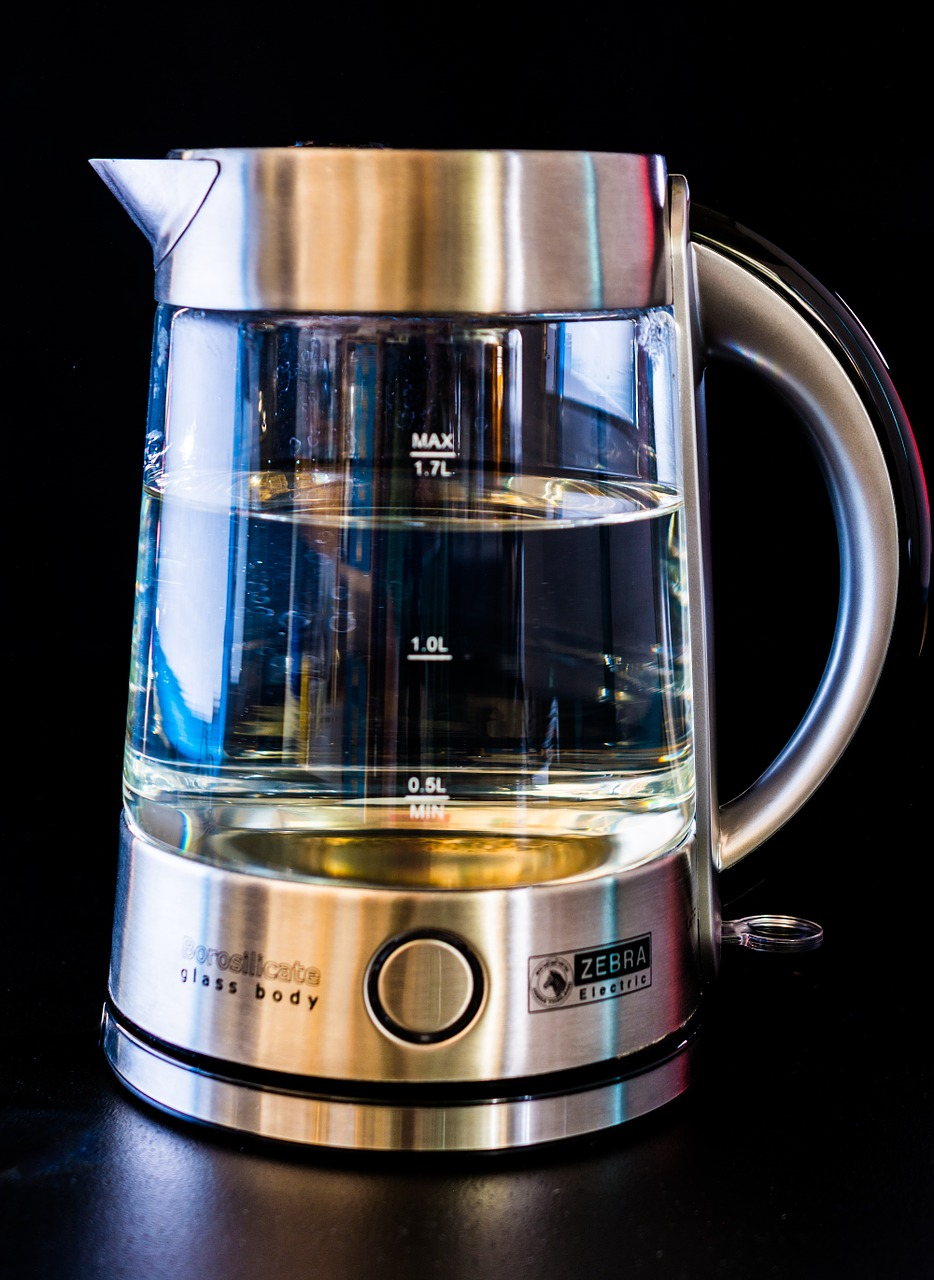 kettle glass water free photo