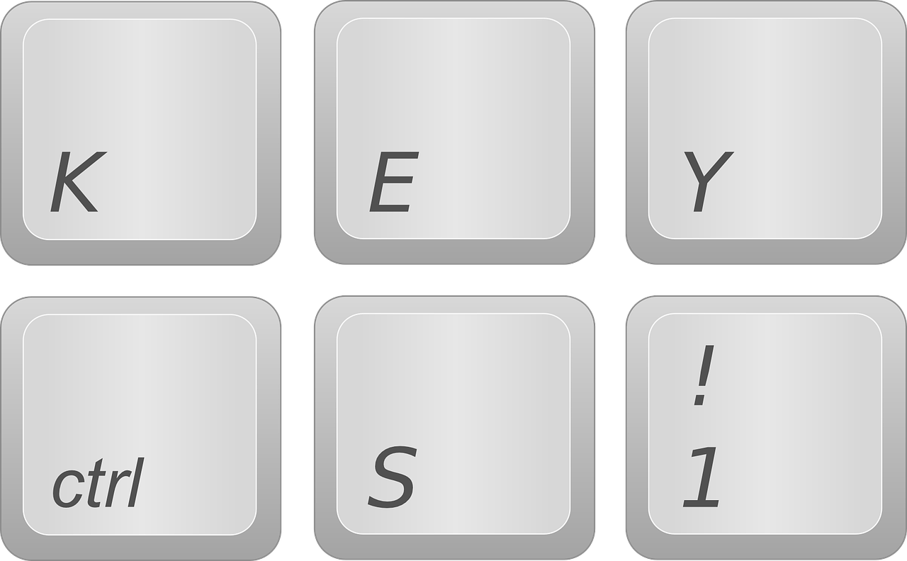 keyboard key button free photo