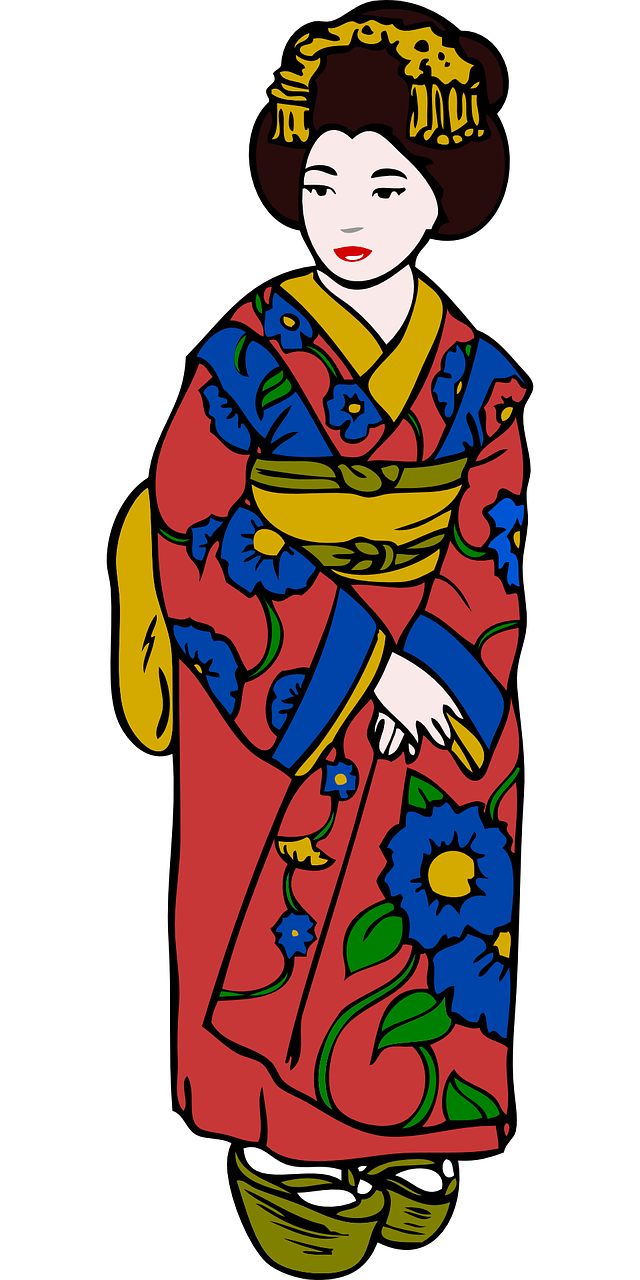 kimono woman clothing free photo