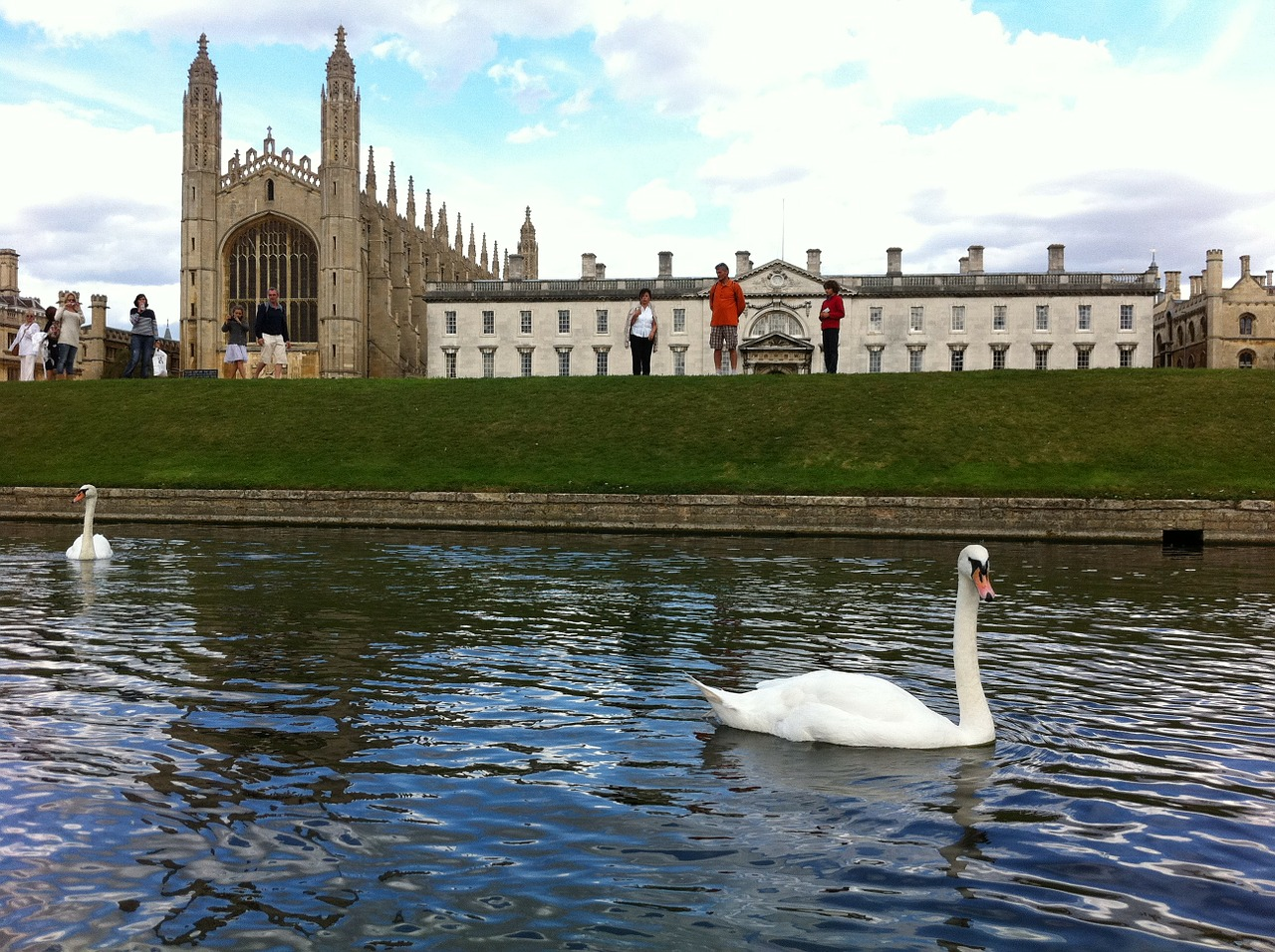 king's college cambridge uk free photo
