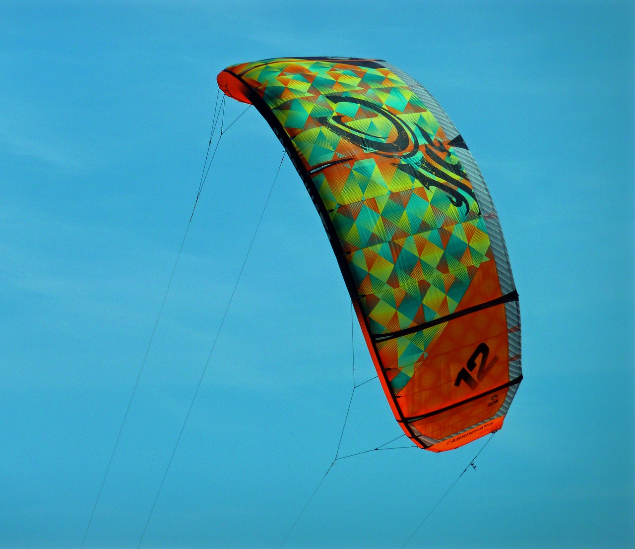 kite kiting kite surfing free photo