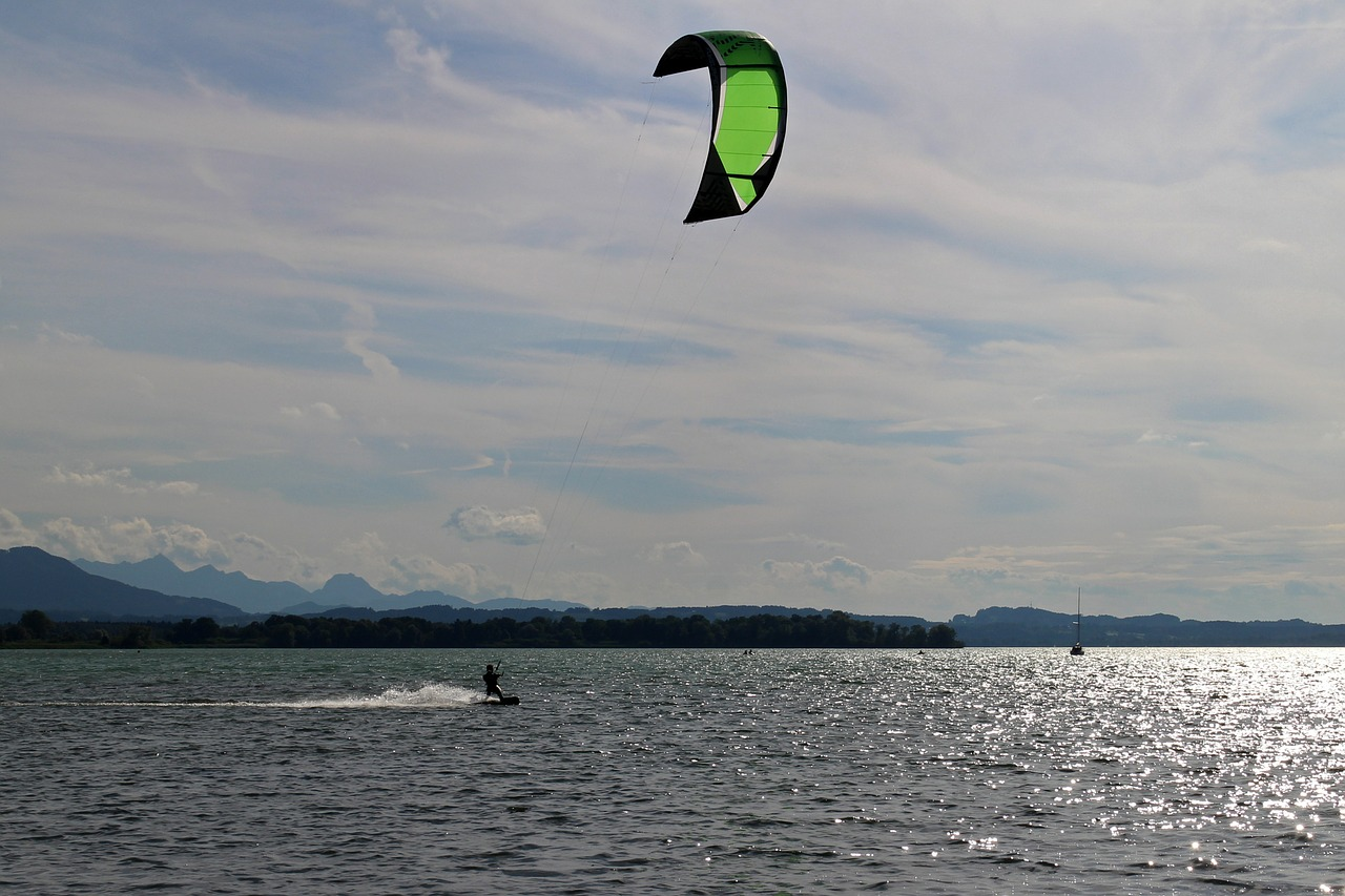 kite surfing surf kitesurfing free photo
