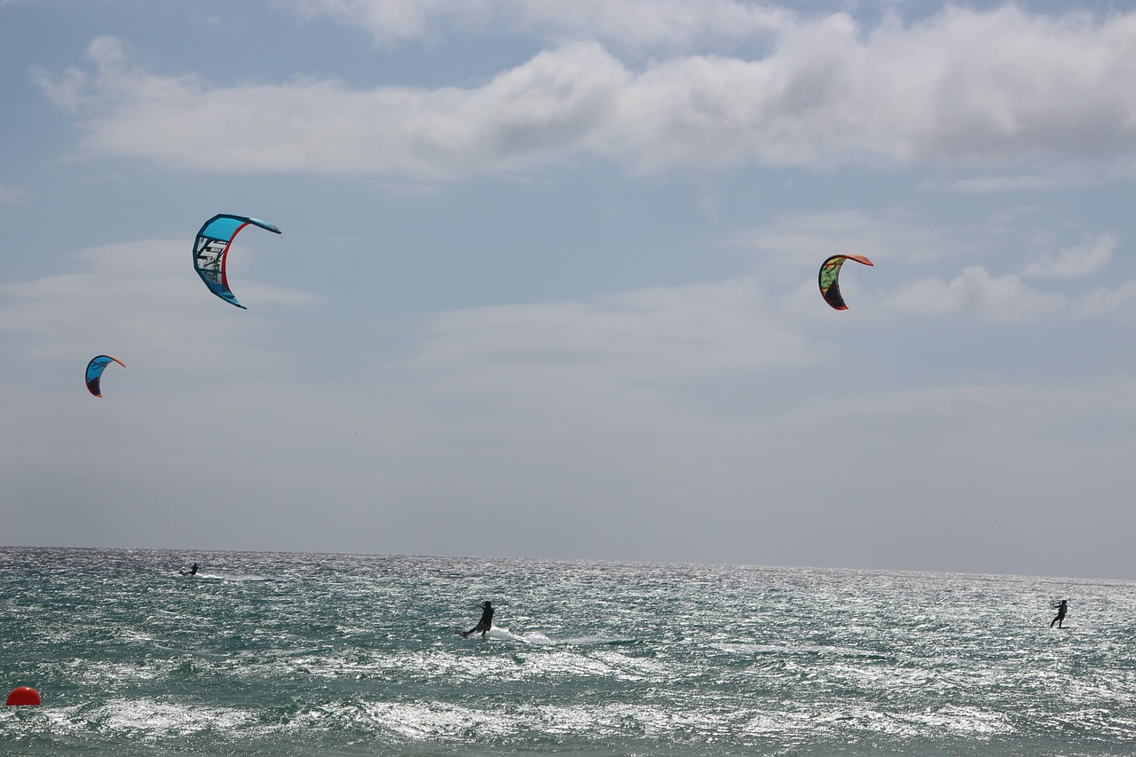 kiteboarding kite surfing kite free photo