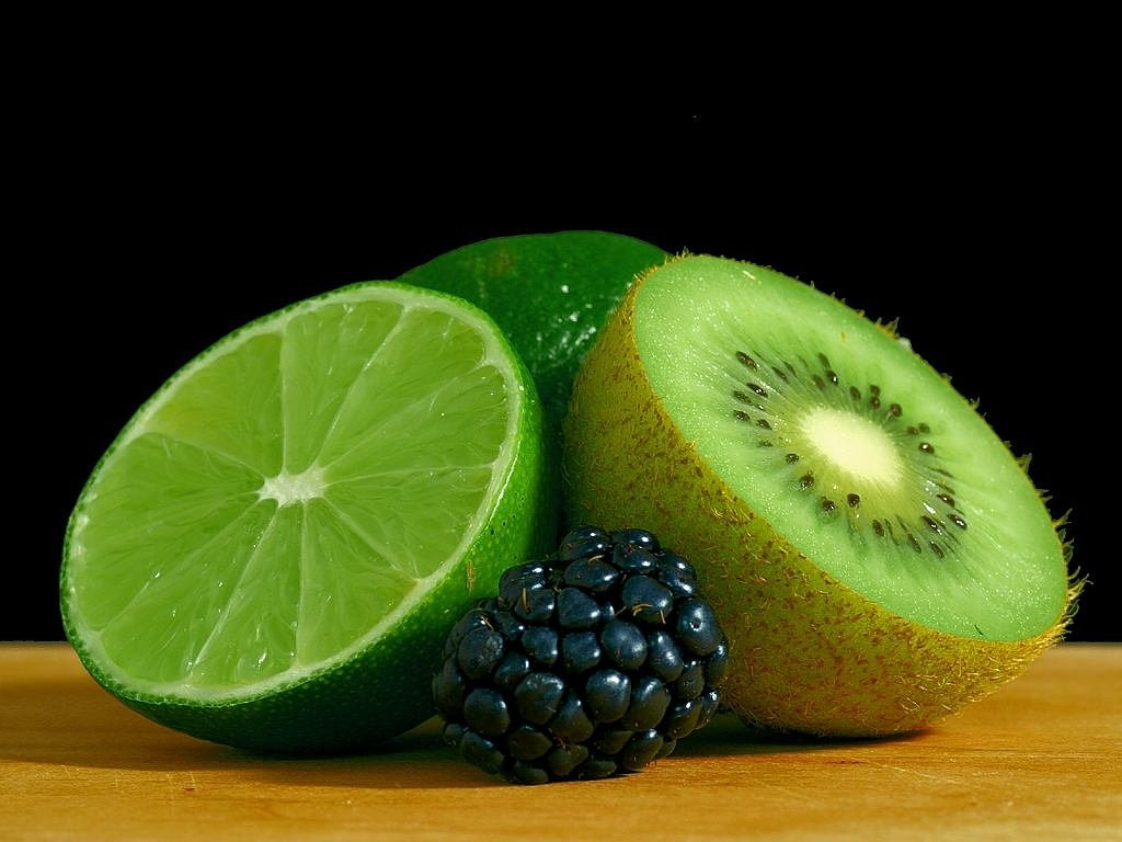 kiwi blackberry lime free photo