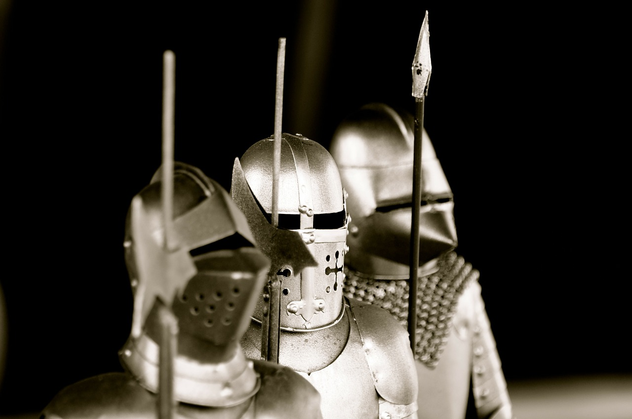 knight armor weapons free photo