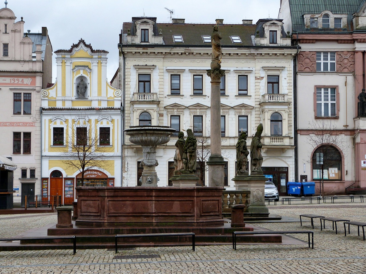 kolin czech republic buildings free photo