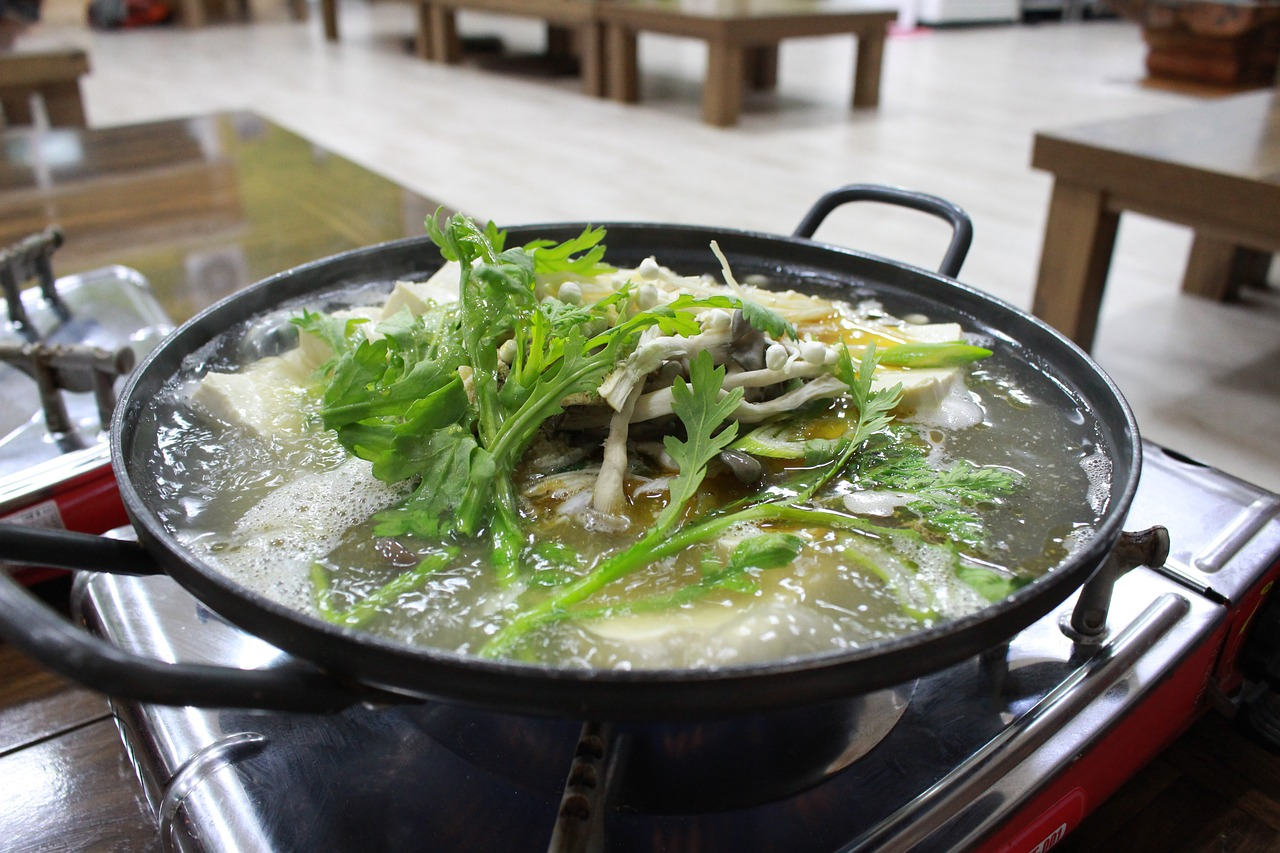 korean  tofu pot  bob free photo