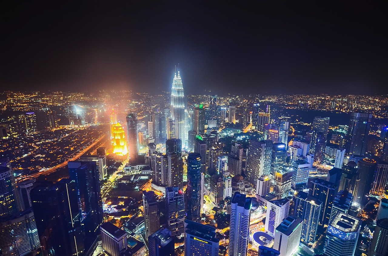 Image result for malaysia city nightlife