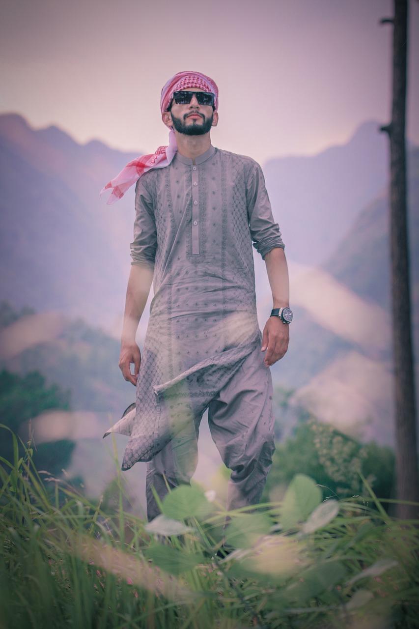 Kurta Fashion Style Mans Style Pakistan Culture Free Image From Needpix Com