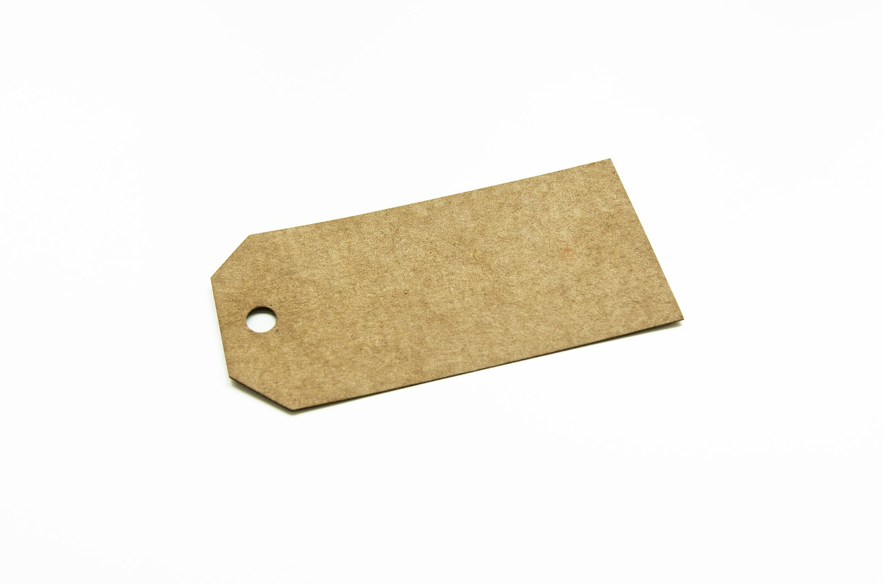 label kraft paper free photo