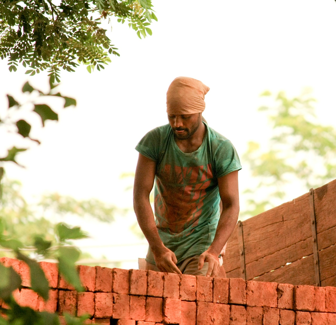 laborer india worker free photo