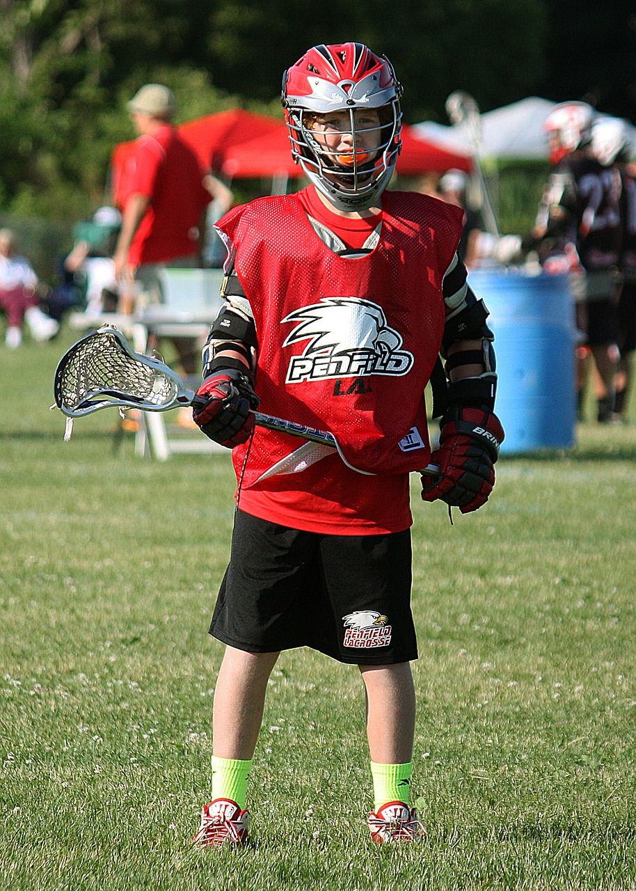 lacrosse player waiting free picture
