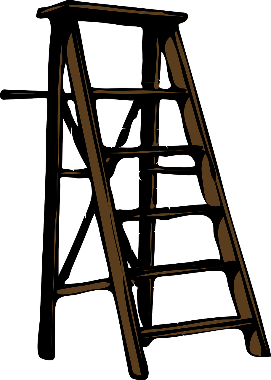 ladder wood step free photo