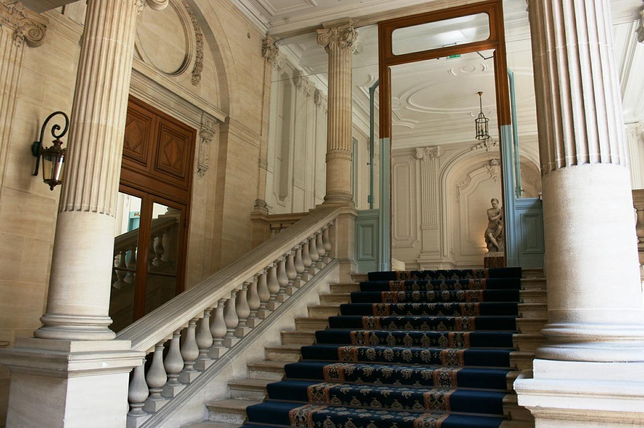Ladder Staircase Handrail
