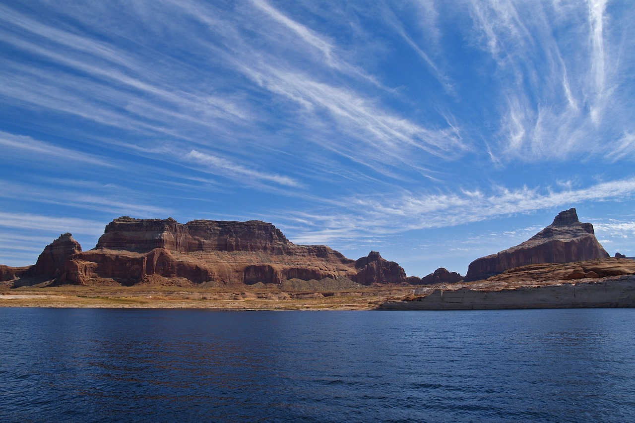 lake powell page arizona free photo