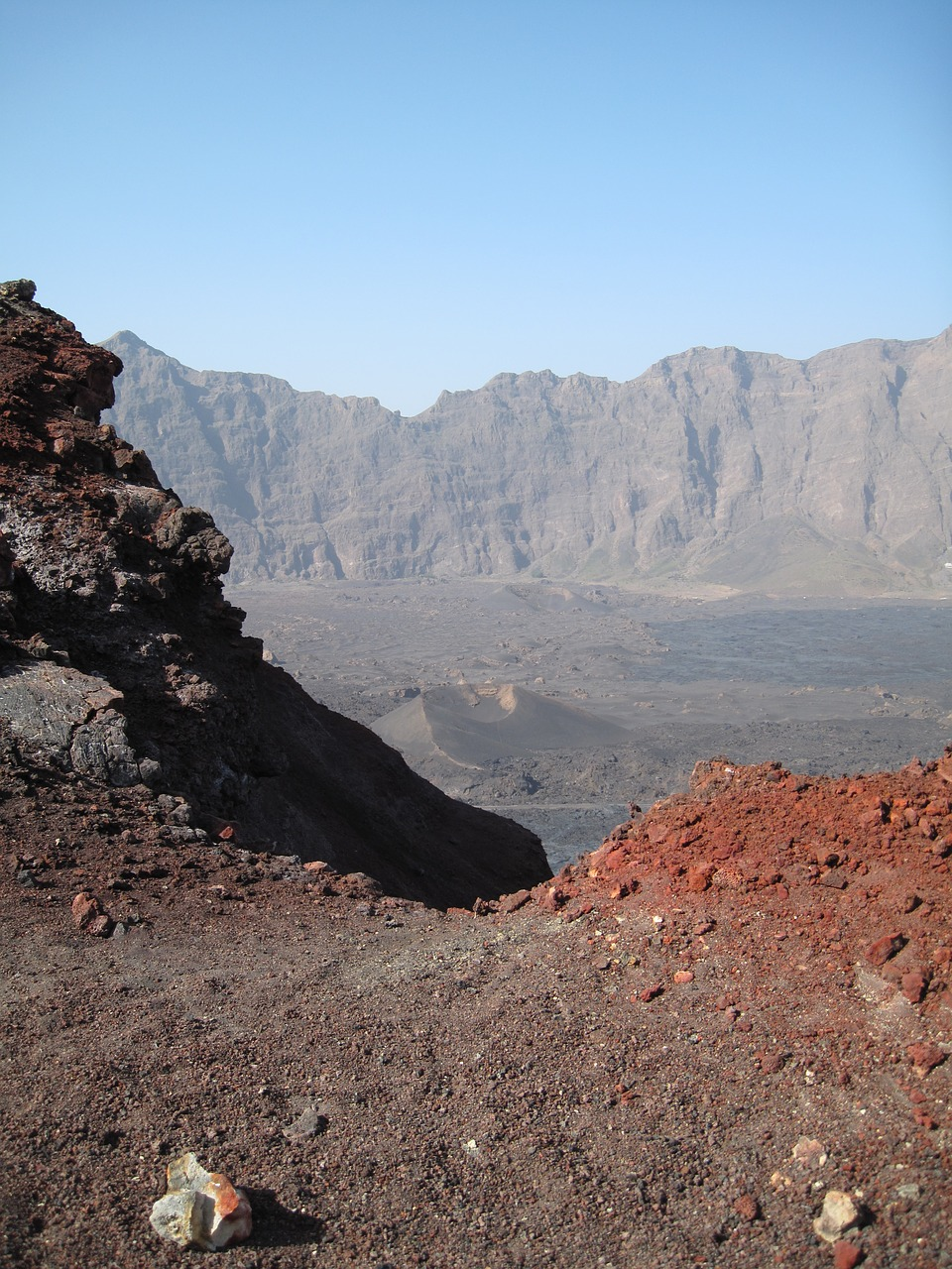 landscape,volcano,volcanic,rock,cape verde,nature,rock formations,lava fields,volcanic rock,free pictures, free photos, free images, royalty free, free illustrations