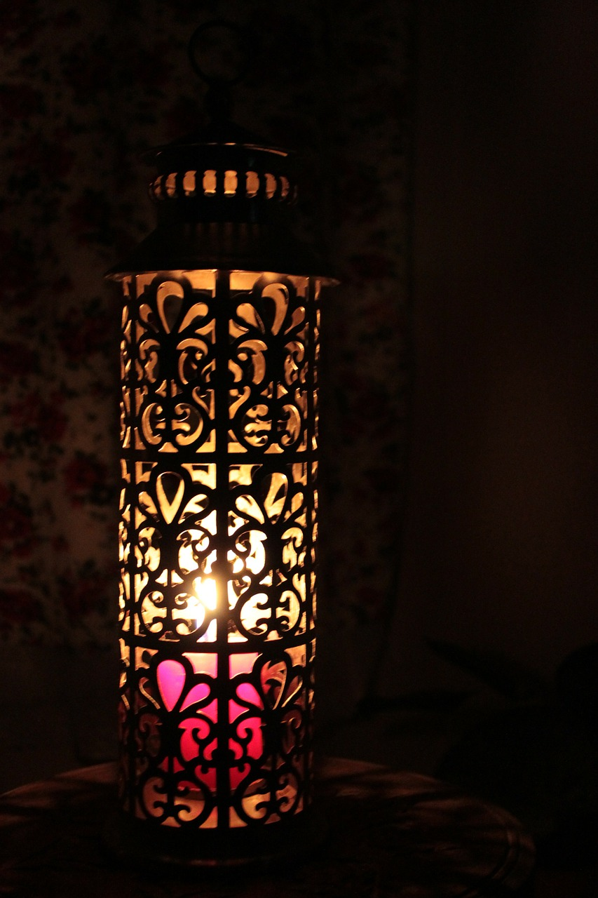lantern illuminated lantern candle free photo