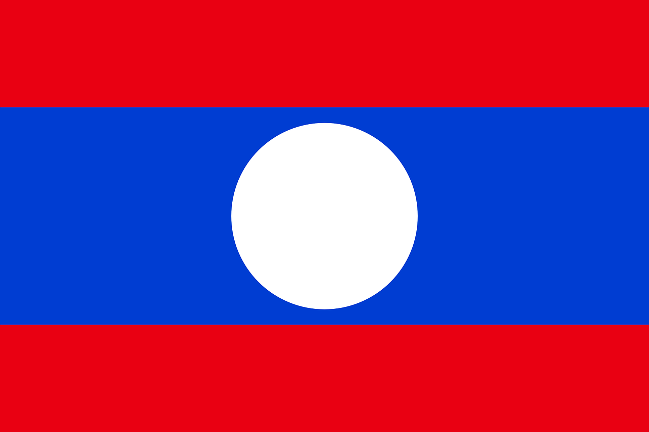 laos flag national free photo