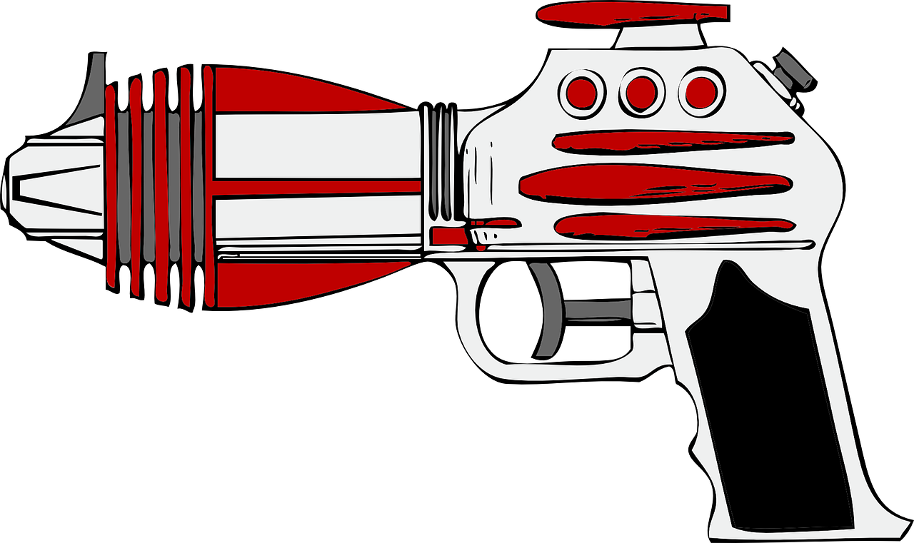 laser gun weapon free photo
