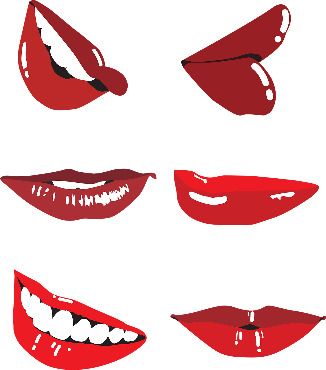 laughter,smile,outline,lips,beauty,vector,overview,free vector graphics,free pictures, free photos, free images, royalty free, free illustrations