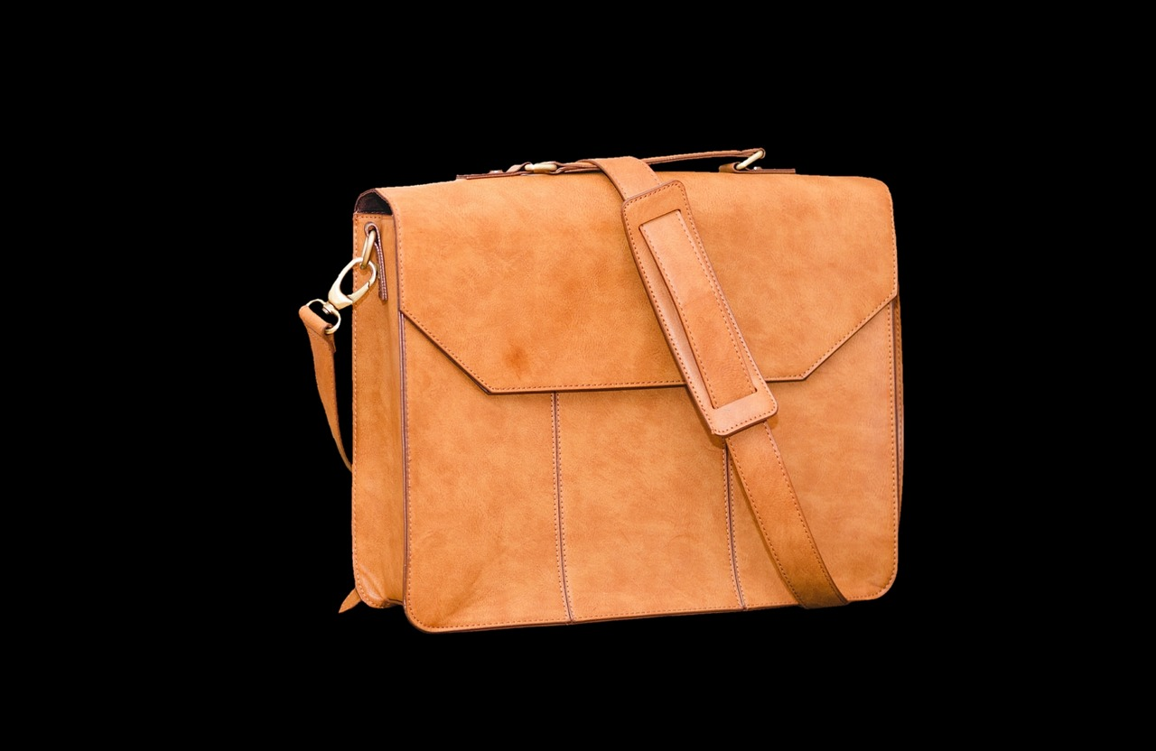 leather case bag briefcase free photo
