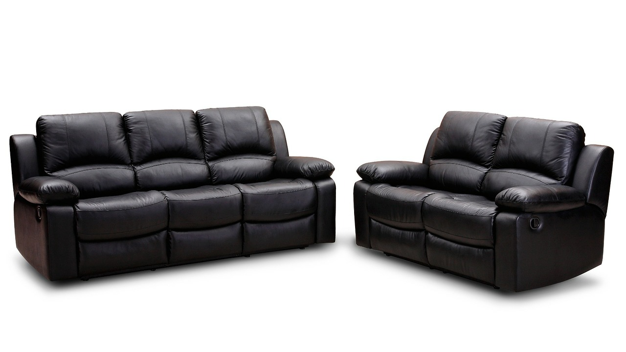 leather sofa recliner sofa furniture free photo