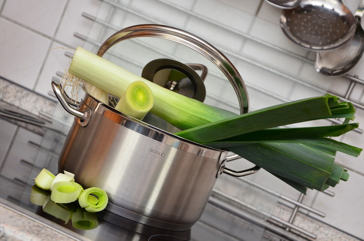 leek vegetables frisch free photo