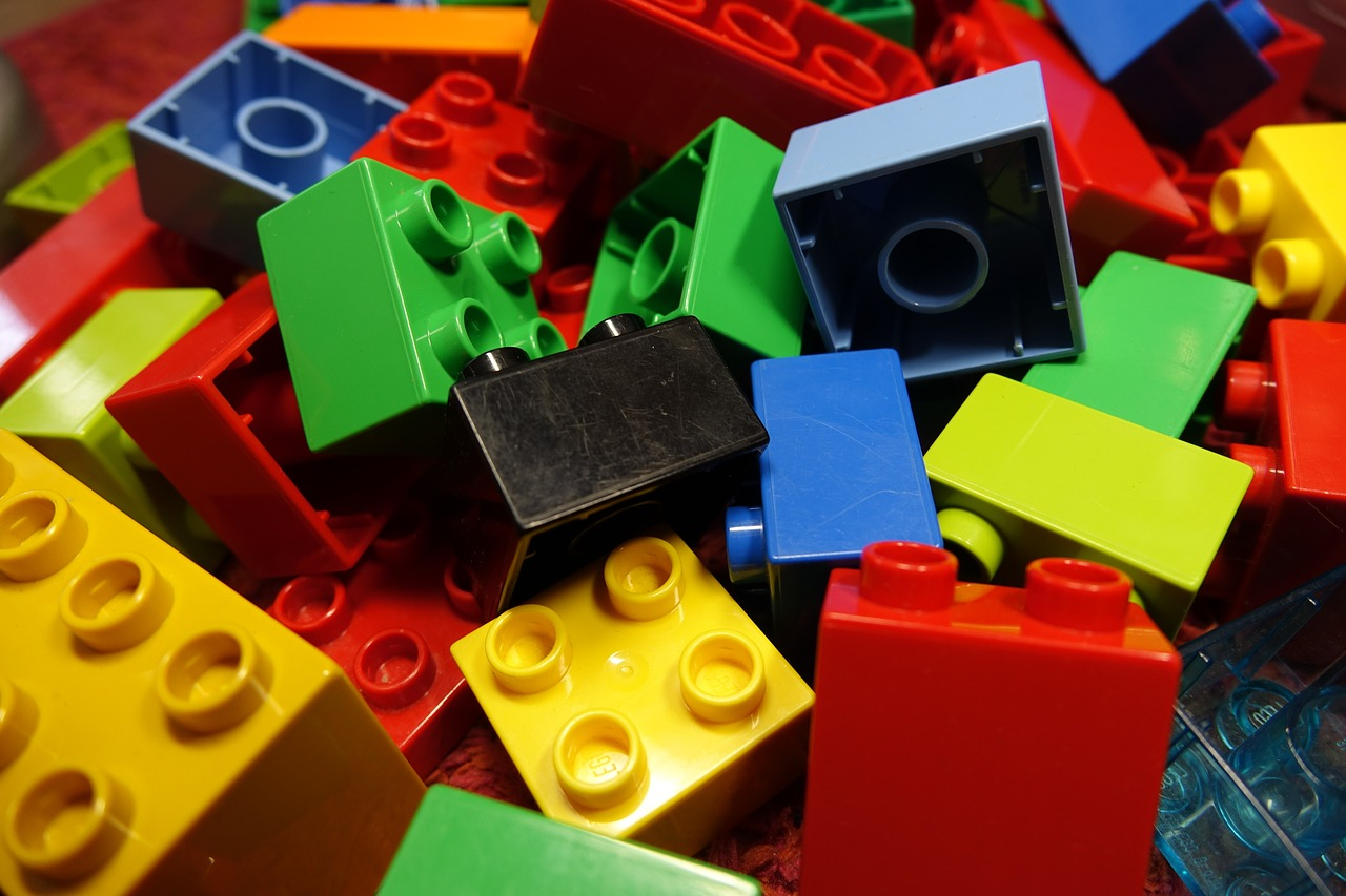 lego blocks duplo lego free photo