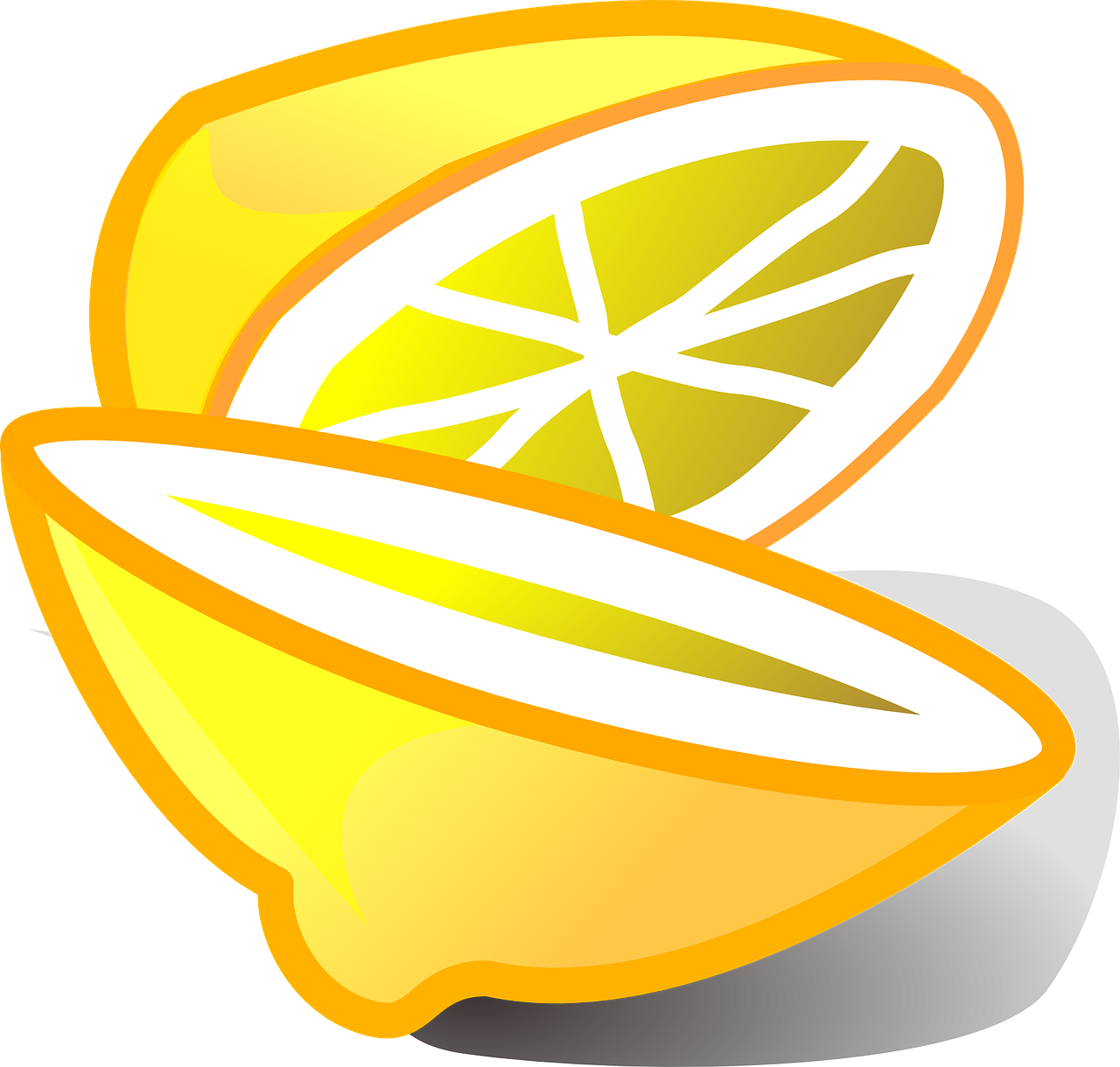 lemon citrus fruit free photo