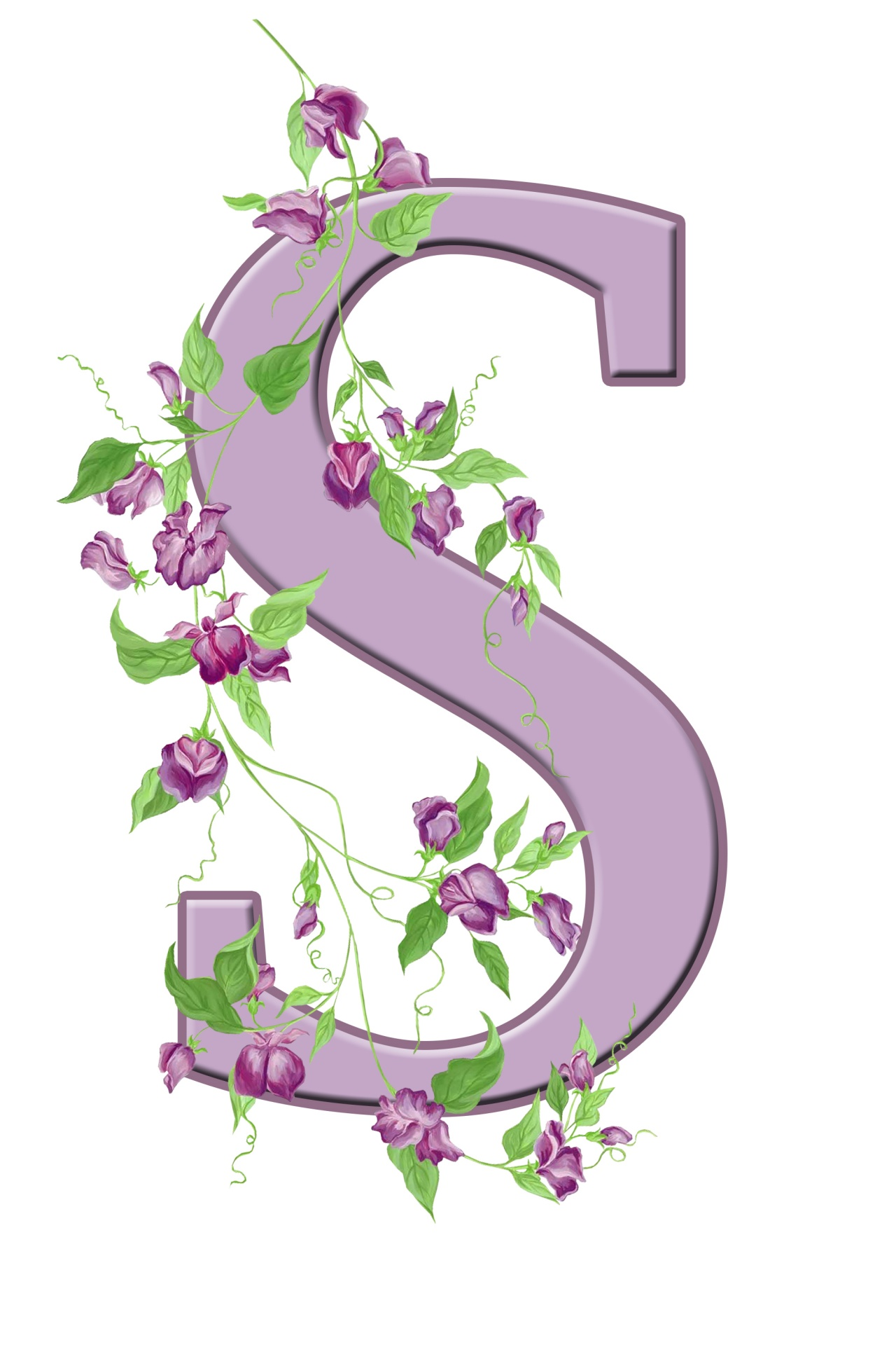 S Letter Monogram Initial Alphabet Free Photo From Needpix Com