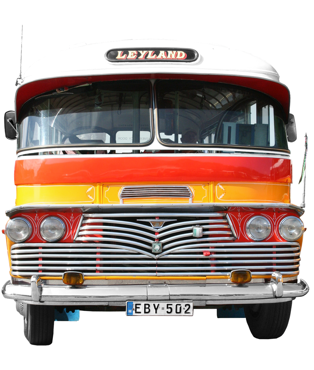 leyland bus transport and traffic free photo