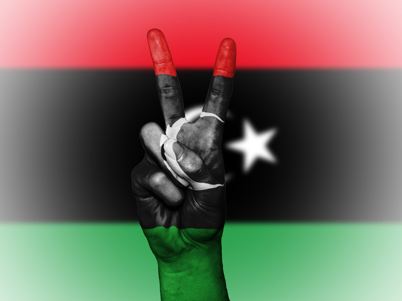 libya,peace,hand,nation,background,banner,colors,country,ensign,flag,icon,national,state,symbol,tourism,travel,free pictures, free photos, free images, royalty free, free illustrations, public domain