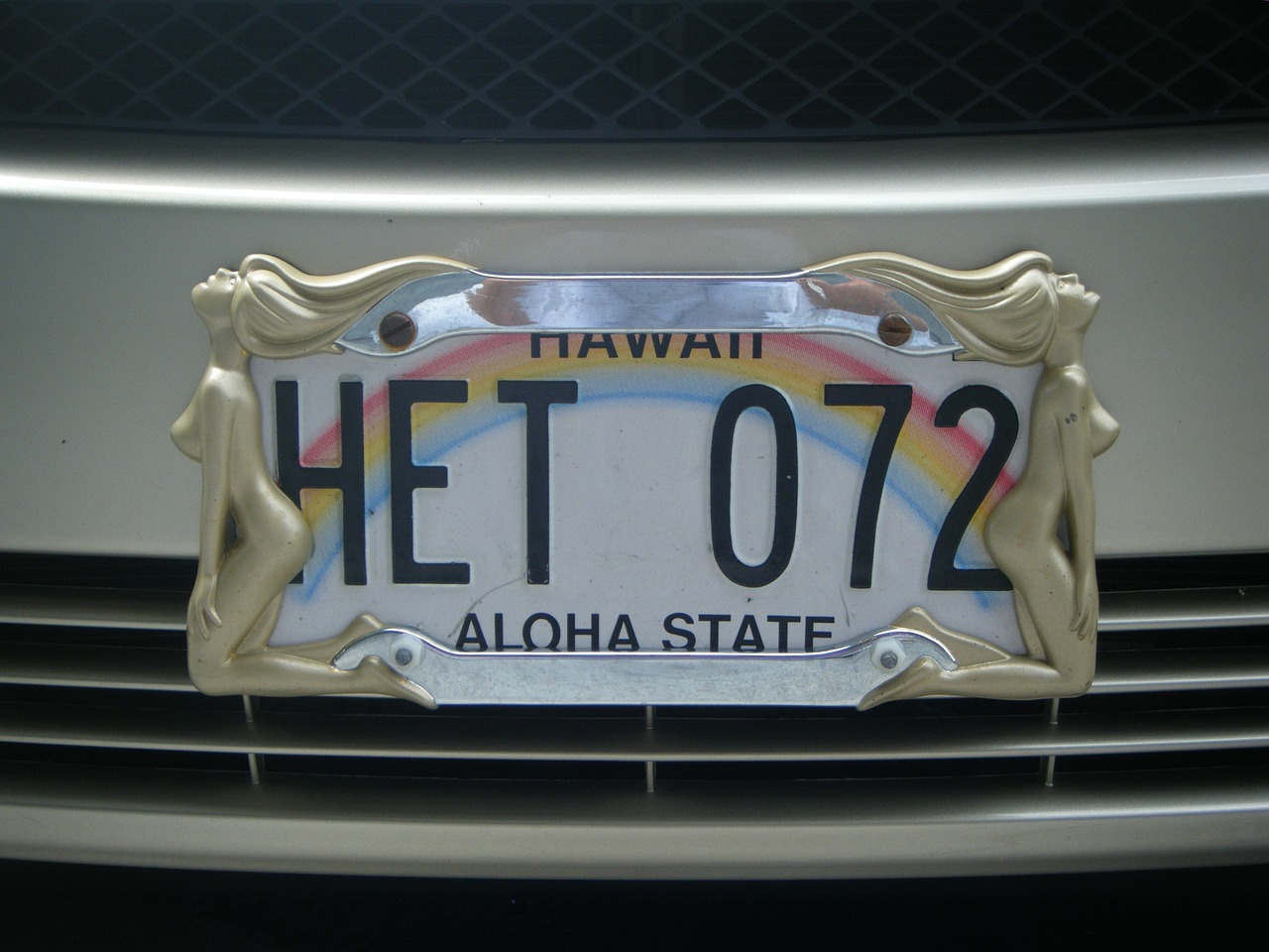 license plate hawaii big iland free photo