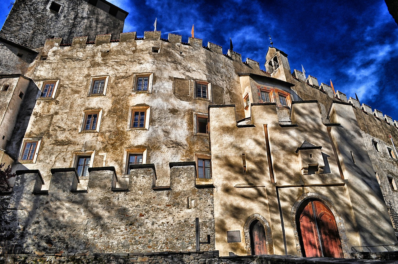 lienz germany castle free photo
