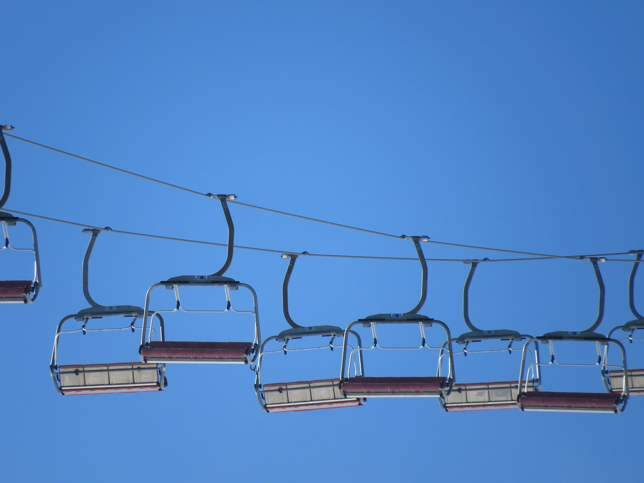 lift ski lift chairlift free photo