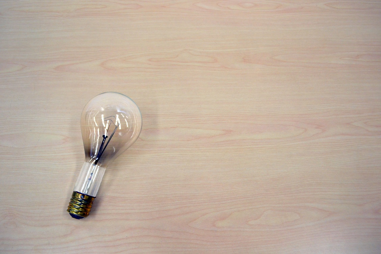 light bulb idea light free photo
