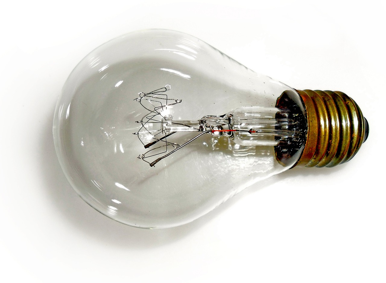 light bulb light lamp free photo