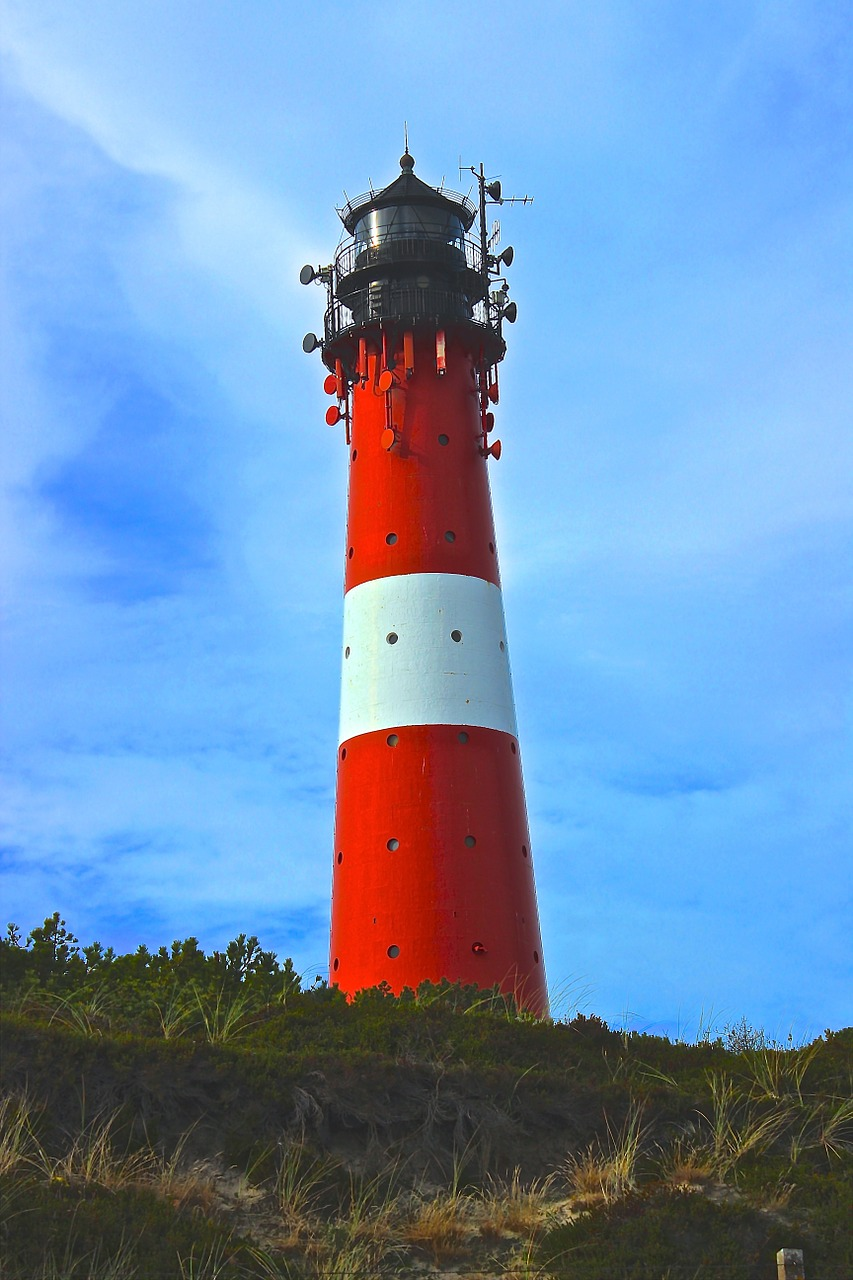 lighthouse north sea sylt free photo