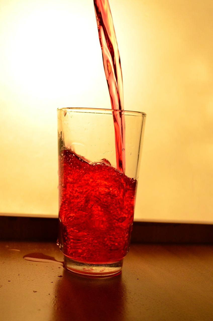liquid red juice free picture
