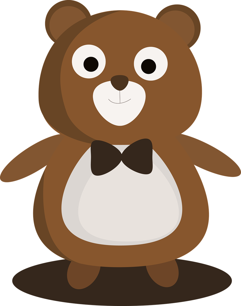 little bear cartoon cute free photo